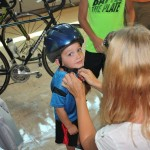 Bike helmets and bus safety were on display at our Back to School Bash.