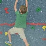 Fair Grove Elementary has a new 40 foot climbing wall for the 2014-2015 school year, thanks to a generous gift from PTO!