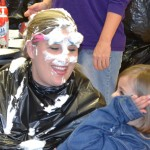 Careful when you Pie Mrs. Crandall, she just might share some of her whipped cream with you.