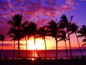 awesome-hawaii-sunset-wallpaper